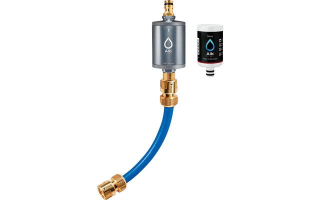 Alb Filter Mobil Nano Trinkwasserfilter mit GEKA Anschluss-Set Titan