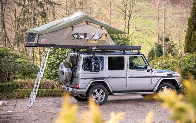 Campwerk Adventure 140 Dachzelt Olive