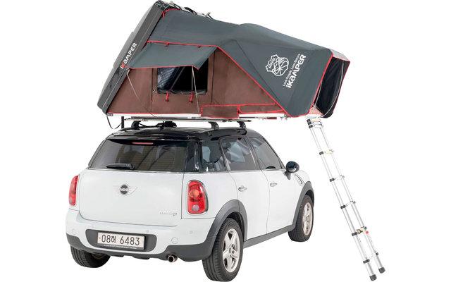 iKamper Skycamp Mini Rocky Black Dachzelt inkl. Glasfaserhartschale glänzend