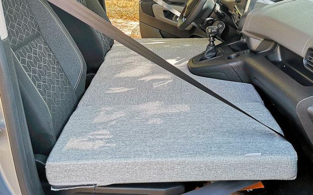 Matratze für Fahrerkabine Peugeot Rifter / Partner, Citroën Berlingo, Opel Combo Bj. 2018 - 2020