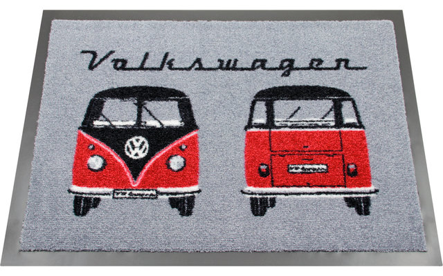 VW Collection T1 Bulli Front / Back Fußmatte 70 x 50 cm
