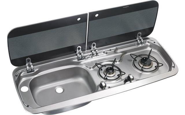 Dometic HSG 2370L Kocher-Spülenkombination 900 x 370 mm Spüle links