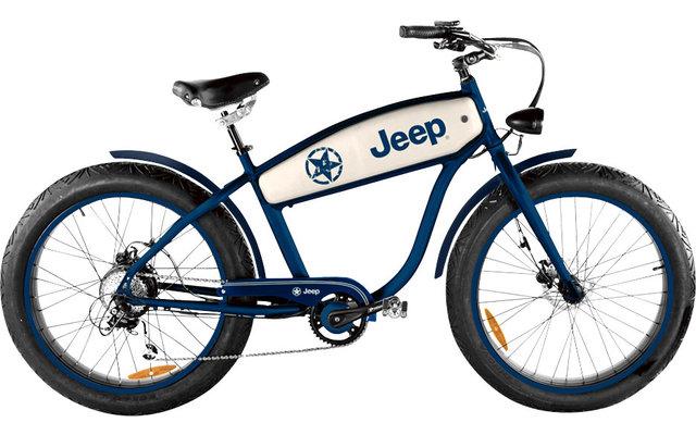 """Jeep Cruise CR E-Bike 26 """" Blau"""