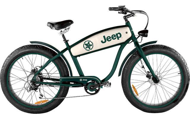 """Jeep Cruise CR E-Bike 26 """" Grün"""