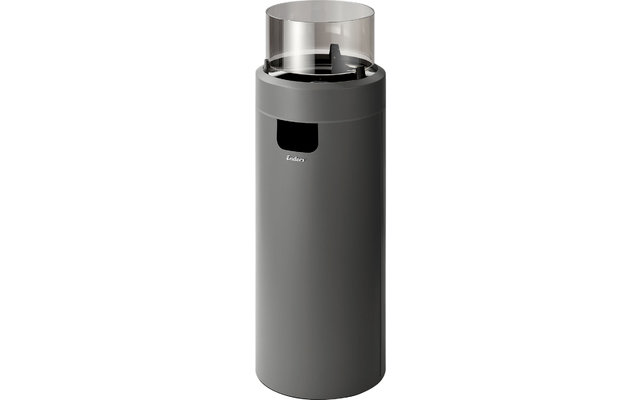 Enders Nova LED L Heizstrahler / Flammenspiel Grey / Black