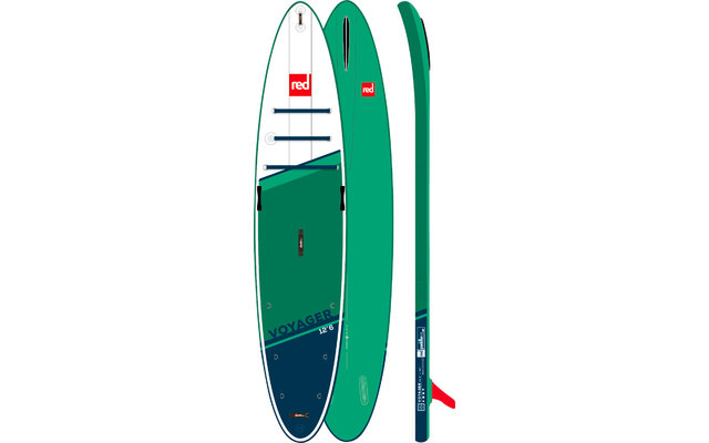 """Red Paddle Voyager aufblasbares Stand Up Paddling-Board 12'6"""""""