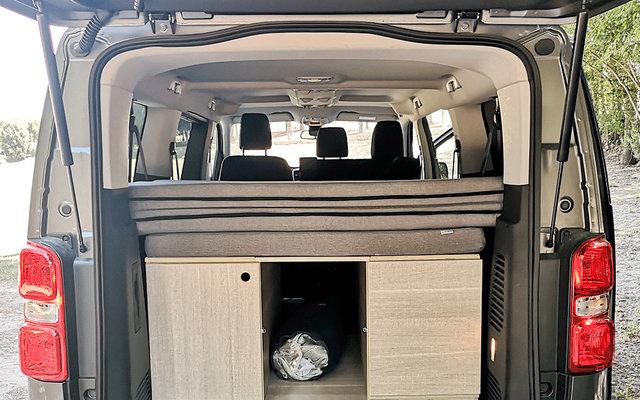 Matratze für Hinterraum Citroen SpaceTourer / Peugeot Traveller / Opel Zafira Live ohne Visko